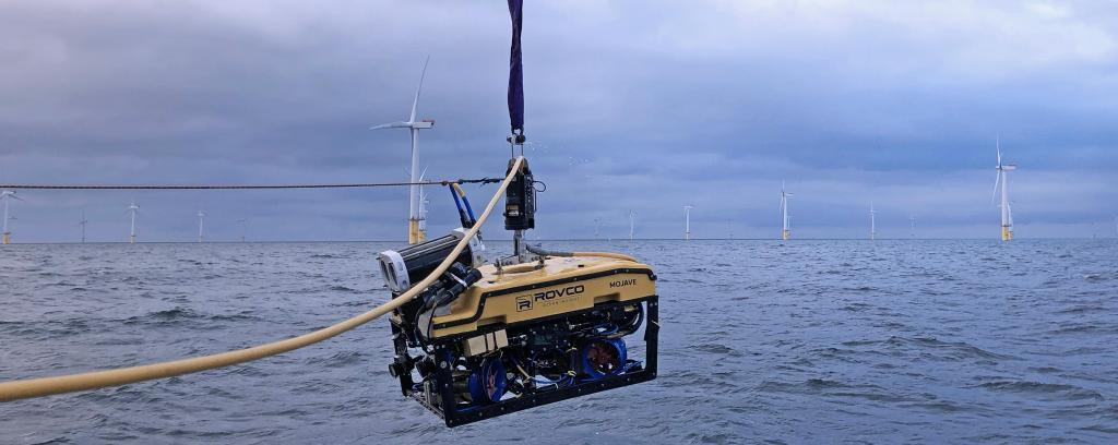 ROV windfarm offshore inspection