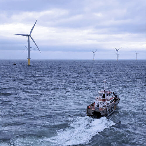 offshore vessel windfarm