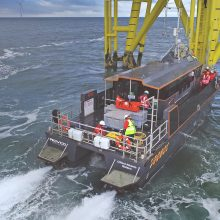 ROV wind farm inspection